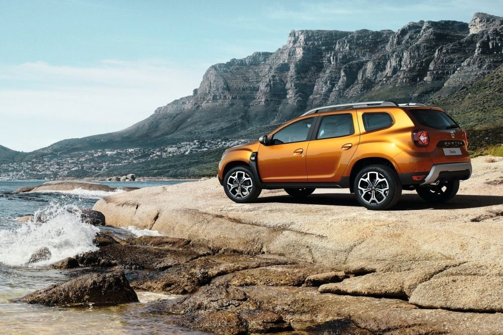 New 2019 Dacia Duster Side HD Wallpapers